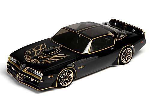 hpi 107201 pontiac firebird 1978 karosserie 200mm. Black Bedroom Furniture Sets. Home Design Ideas
