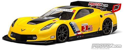 Protoform 1546-40 - Chevrolette Corvette C7.R - 1:8 GT / RallyGame Body - long WB