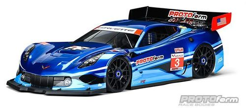 Protoform 1551-40 - Chevrolette Corvette C7.R - 1:8 GT / RallyGame Body - short WB