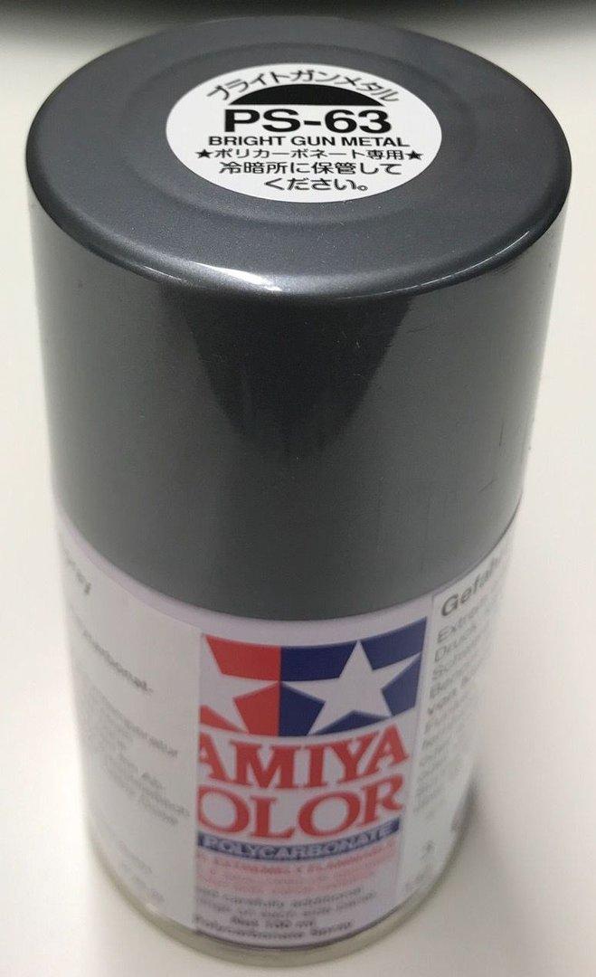Car Paint Shops Prices >> Tamiya 86063 - PS-63 polycarbonate spray - BRIGHT GUN METAL - 100ml - RC-KleinKram Stefan Klein