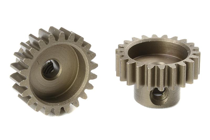 Corally 71622 - Pinion Gear hardened steel - Module M0 6 - 22 Teeth (1  piece)