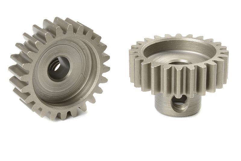 Corally 72524 - Pinion Gear hardened steel - 32 DP - 24 Teeth (1 piece)