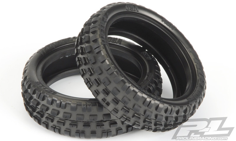 """Pro-Line 8230-103 Wedge Squared 2.2/"""" 2WD Z3 Off-Road Front Tires 2"""
