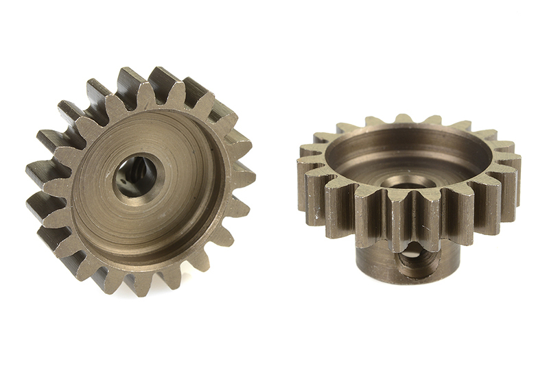 Corally 71519 - Pinion Gear hardened steel - 32 DP / Module 0 8 - 19 Teeth  (1 piece)