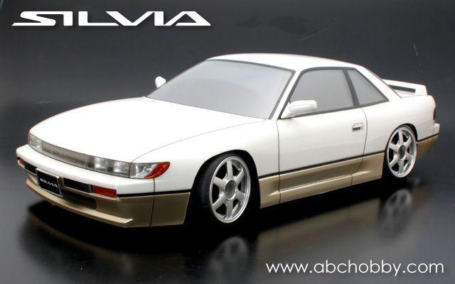 ABC 66142 - Nissan Silvia - S13 - 1:10 Touring - Body Set