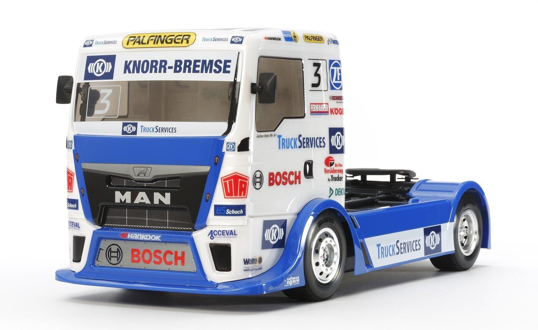 tamiya man tgs racetruck team hahn racing karosserie. Black Bedroom Furniture Sets. Home Design Ideas