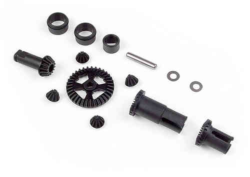 XRAY 385000 - COMPOSITE GEAR DIFF. + DRIVESHAFT PINION GEAR