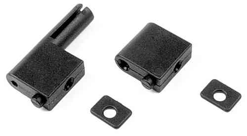 XRAY 386200 - COMPOSITE SERVO MOUNT+ ANTENNA HOLDER - SET