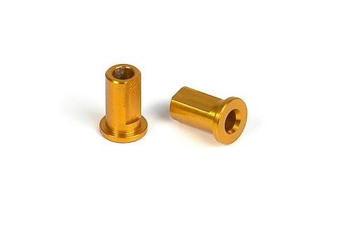 XRAY 302033-O -  T2 Alu Suspension Nuts - ORANGE