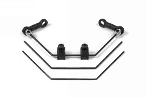 XRAY 302401 - ANTI-ROLL BAR FRONT 1.2 + 1.4 + 1.6MM (SET)