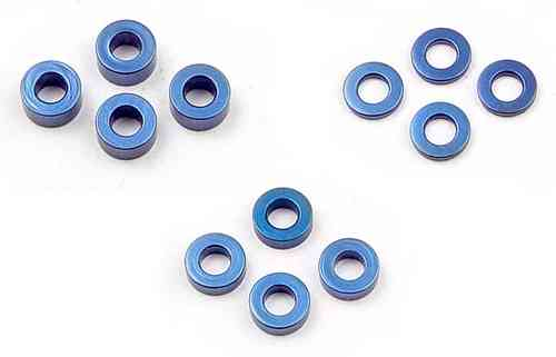 XRAY 303121 - SET OF ALU SHIM (1.0MM, 2.0MM, 3.0MM)
