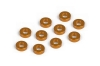XRAY 303123-O - ALU SHIM 3x6x2.0MM - ORANGE (10)