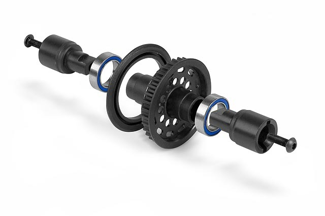 XRAY 305184 - COMPOSITE SOLID AXLE 34T - SET