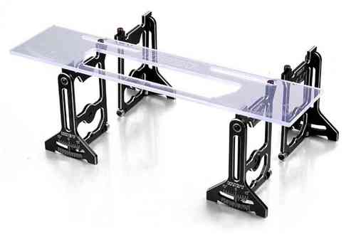HUDY 109305 - UNIVERSAL EXCLUSIVE SET-UP SYSTEM FOR 1/10 TOURING CARS