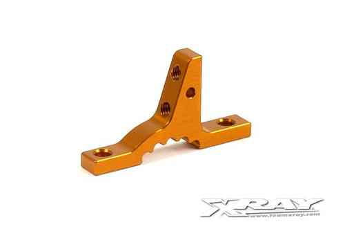 XRAY 302024-O - T3 ALU UPPER CLAMP FOR BULKHEADS - ORANGE