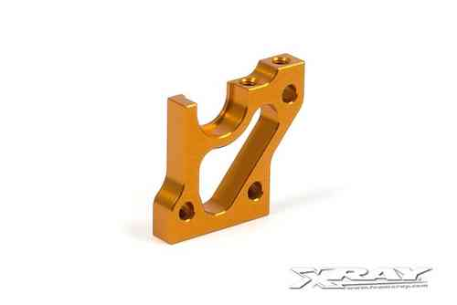 XRAY 303014-O - T3 ALU RIGHT LAYSHAFT BULKHEAD - ORANGE