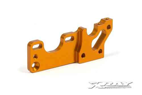 XRAY 303052-O - T3 ALU MOTOR MOUNT BULKHEAD - ORANGE