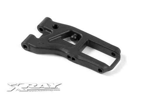 XRAY 302166 - FRONT SUSPENSION ARM - EXTRA-HARD - 2-HOLE