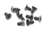 XRAY 903306 - HEX SCREW SFH M3x6  (10)