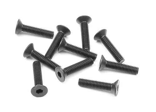 XRAY 903312 - HEX SCREW SFH M3x12  (10)