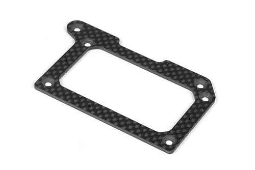 XRAY 371140 - GRAPHITE 2.0MM REAR POD LOWER PLATE
