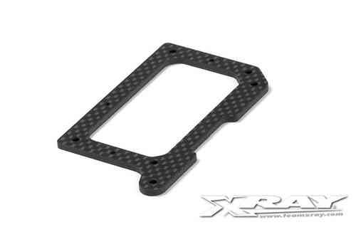 XRAY 371141 - GRAPHITE 2.5MM REAR POD LOWER PLATE
