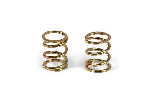XRAY 372180 - FRONT COIL SPRING 3.6x6x0.5MM; C=3.5 - GOLD (2)