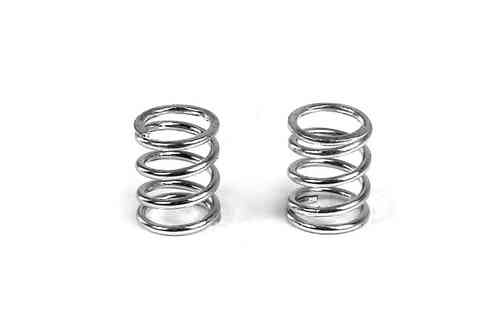 XRAY 372181 - FRONT COIL SPRING 3.6x6x0.5MM; C=4.0 - SILVER (2)
