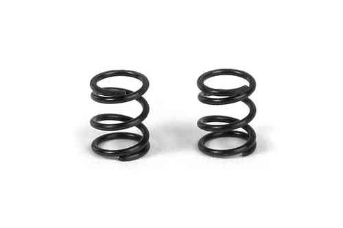 XRAY 372182 - FRONT COIL SPRING 3.6x6x0.5MM; C=5.0 - BLACK (2)