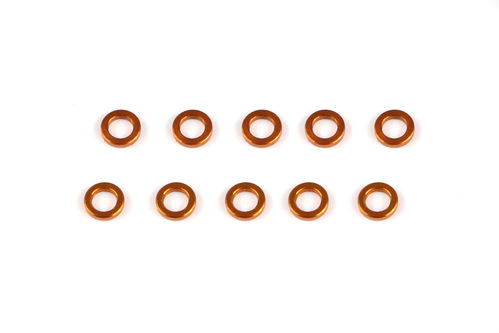 Serpent 401388 - Bushing alu 3x5x1 - ORANGE (10)