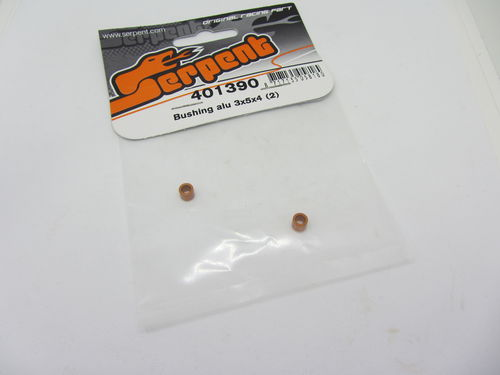 Serpent 401390 - Bushing alu 3x5x4 orange (2)