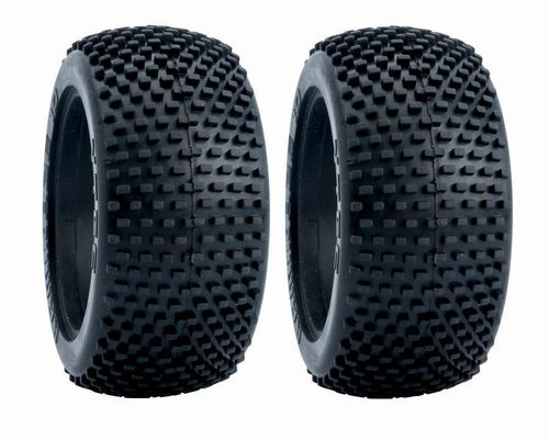 LRP 65551J - VTEC Kamikaze 10 rear - 1/10 Buggy tyre incl. insert J-Compound