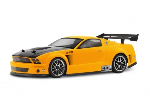 HPI 17504 - Ford Mustang GT-R 200mm Karosserie Set [GT Challenge legal!]