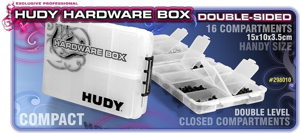 Hudy Hardware Box Kleinteilebox Double Sided 298010