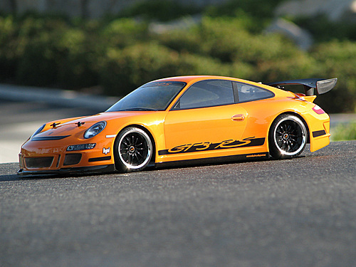 HPI 17541 - PORSCHE 911 GT3 RS BODY (200mm)