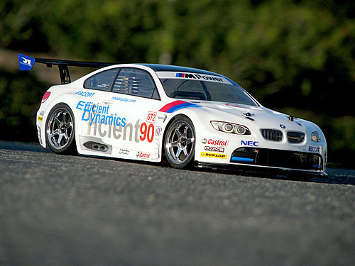 HPI 17548 - BMW M3 GT2 E92 200mm Karosserie Set [GT Challenge legal!]