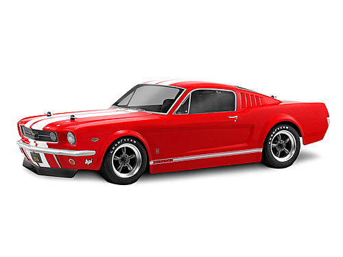 HPI 17519 - 1966 FORD MUSTANG GT BODY (200mm)