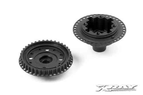 XRAY 304910 - COMPOSITE GEAR DIFF. CASE & COVER