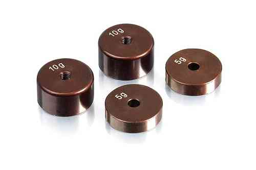 XRAY 309840 - PRECISION BALANCING CHASSIS WEIGHTS (4 PCS.)