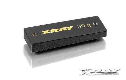 XRAY 309854 - PRECISION BALANCING CHASSIS WEIGHT CENTER 30 G
