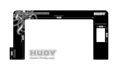 HUDY 107771 - BODY GAUGE 1/10 ELECTRIC TOURING CARS