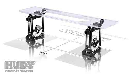 109405 - HUDY UNIVERSAL EXCLUSIVE SET-UP SYSTEM FOR 1/10 & 1/12 PAN CARS