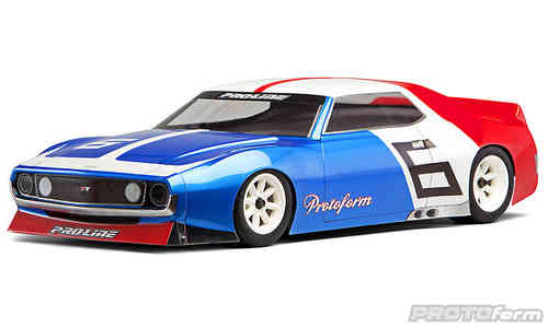 Protoform 1526-00 - Vintage Retro J71 - 200mm Tourenwagen Body - VTA