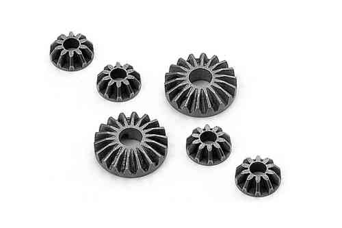 XRAY 335030 - DIFF BEVEL & SATELLITE GEARS (2+4)
