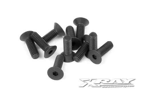 XRAY 903256 - HEX SCREW SFH M2.5x6  (10)