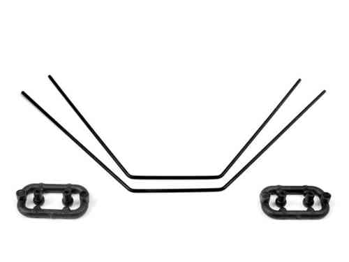 XRAY 382412 - ANTI-ROLL BAR FRONT & REAR 1.2 MM