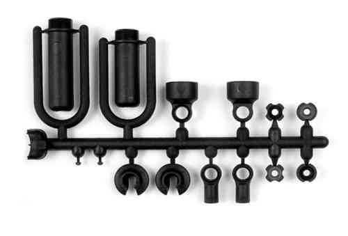 XRAY 388110 - COMPOSITE FRAME SHOCK PARTS INCL. O-RINGS