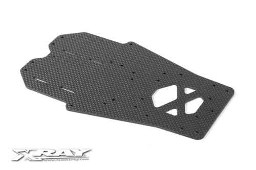 XRAY 371103 - X12 2.5mm Carbon Chassis Platte