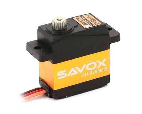 SAVÖX SH-0264MG Nano Digitalservo
