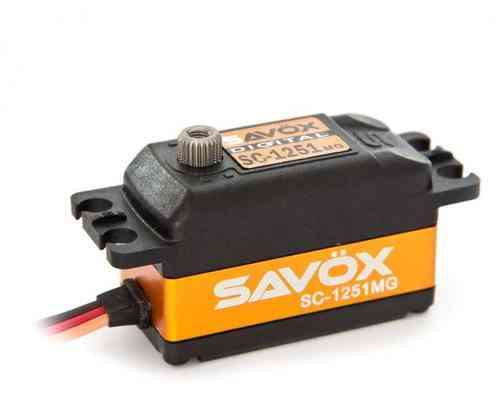 SAVÖX SC-1251MG Low-Profile Digitalservo
